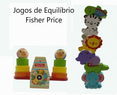 Jogos de Equilíbrio Fisher Price Aluguel Phoenix