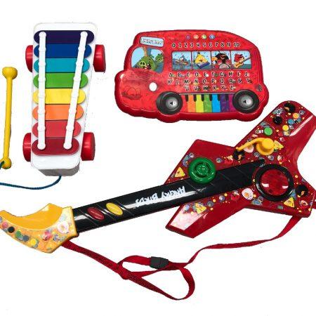 Xilofone_Teclado_musical_Guitarra_Locação_Brinquedos_Aluguel_Phoneix